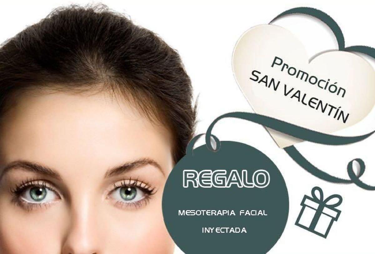 Para San Valentín te regalamos Mesoterapia Facial por la compra de otro tratamiento